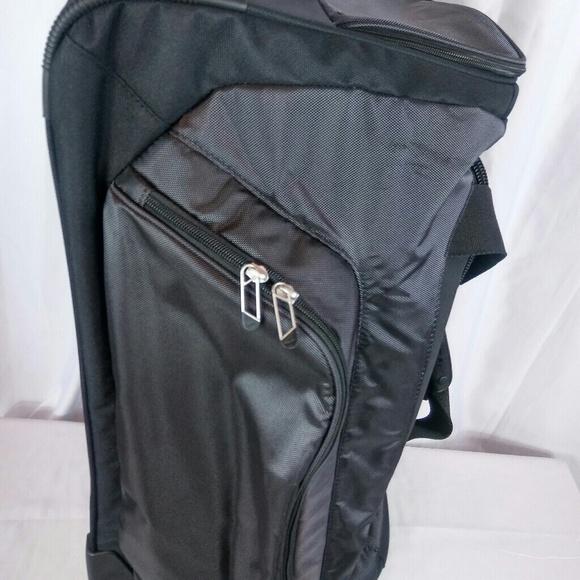 4f9278839e4ad Nike Bags | Departure Roller Duffle Ii Blk Durable Travel | Poshmark
